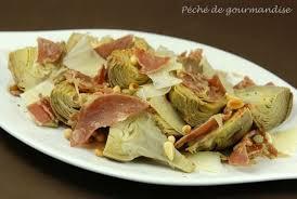cuisiner les artichauts violets artichauts poivrade poêlés à l huile pimentée et coppa péché de