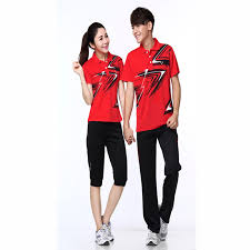 online shop summer casual wear badminton shirt badminton clothing