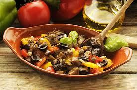 cuisine sicilienne recette recette caponata sicilienne à l ancienne