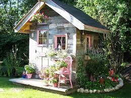 ideas for a small country garden cottage shed best all in one