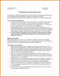 Free Personal Statement Example     PDF     Page s    Page   Personal Statement Samples     paperbunker com   example personal statements