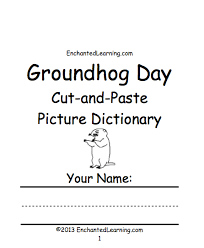 books to print groundhog day crafts worksheets and printable