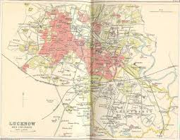 Calcutta India Map by Historical Maps Of India