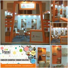 textile fabrics u0026 yarns exhibition stall design india
