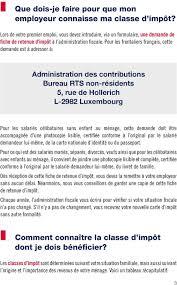 bureau rts non resident frontaliers français je travaille au grand duché de luxembourg