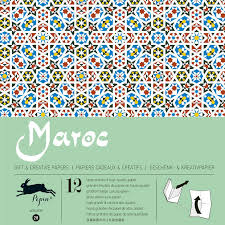 moroccan wrapping paper the pepin press morocco wrapping paper fab