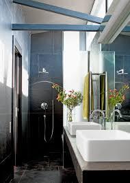 salle de bain aubergine et gris indogate com salle de bain moderne blanche