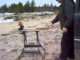 Plans For A Shooting Bench Diy Shooting Bench Rest From On Hand Materials Youtube