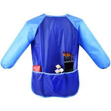 amazon com mudder long sleeve children u0027s art smock waterproof