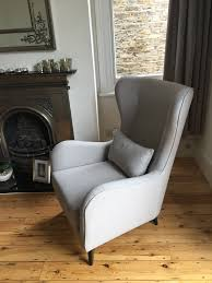 Rocking Chair Used J Brown Cotton Harbour Colour 35 Dove Was Used On This Modern