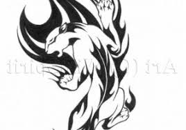 collection of 25 tribal panther within stylish tribal