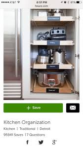 kitchen appliance storage cabinet kitchen storage best kitchen appliance storage ideas on diy hidden