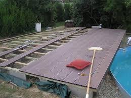 amenagement autour piscine hors sol terrasse piscine hors sol dootdadoo com u003d idées de conception