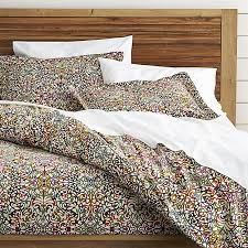 Duvet Cover What Is It Lucia Duvet Covers And Pillow Shams Crate And Barrel