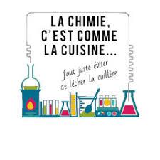 la chimie c est comme la cuisine t shirt femme coton blanc