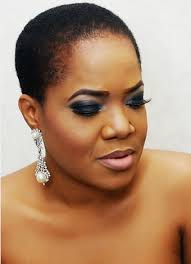 pictures of low cut hairs toyin aimakhu rocks natural hair in low cut look naijagistsblog