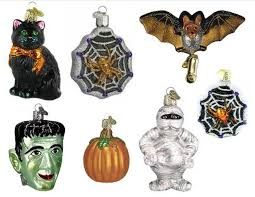 Hallmark Halloween Ornaments by The Salem Collection Mini Jack O Lantern Halloween Ornaments