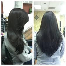 pictures of v shaped hairstyles layered v shaped haircut long layered v cut hairstyles black hair