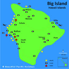 map of hawaii big island map of big island hawaii in the hawaiian islands