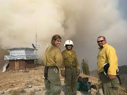 Wildfire Kingman Az by Billings Woman Evacuated From Fire Lookout When Wildfire Blows Up
