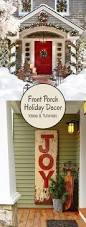 Outdoor Christmas Decorations Front Porch by Creative Ways To Decorate Your Front Porch For The Holiday Front