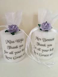 holy communion favors personalised candle 1st holy communion favors godparent christening