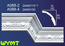 Plasterboard Cornice Gypsum Cornice Designs Fiber Glass Plaster Cornice A088 2 Buy