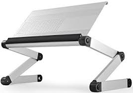 Laptop Stands For Desks Workez Executive Adjustable Height Angle Ergonomic