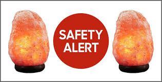 himalayan salt rock light himalayan rock salt ls recalled due to fire risk dangers of