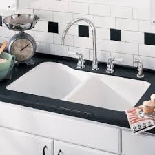 American Standard Silhouette  Double Bowl Kitchen Sink - American kitchen sinks