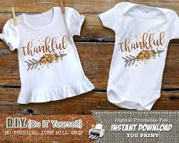 mouse ears my thanksgiving boy iron on printable decal