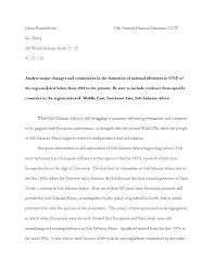 sample dbq essay ap world history ccot essays ap world history dbq essay prompts high school racism ccot essay middle east ccot essay middle east one day ap world history