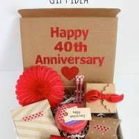 40th wedding anniversary gift ideas 40th wedding anniversary invitations invitations template