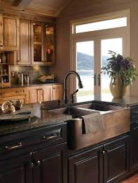 Farm Sinks For Kitchen Copper Farmers Sink Hammered Copper Kitchen Farm Sink Hammered