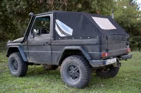 mercedes g wagon convertible for sale mercedes g class convertible 1980 black for sale