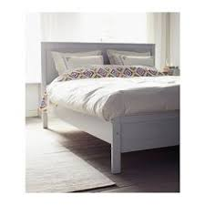 Wooden White Bed Frames Lillesand Bed Frame Ikea Space The Bed Can Be Utilized With