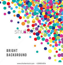 colorful abstract spot background vector illustration stock vector