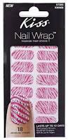 amazon com kiss nail wrap strips cocktail nail polish and nail