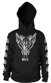 pullover sweater unholy bat hooded pullover sweater blackcraft cult