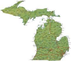 Upper Peninsula Michigan Map Michigan Maps