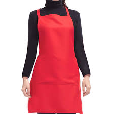 Baking Apron For Womens Waist Apron Commercial Restaurant Home Bib Kitchen Cook Apron With