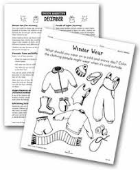 winter sorting worksheet junior infants pinterest inverno