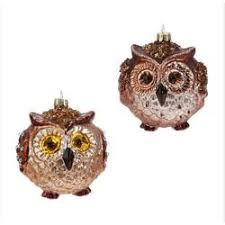owl ornaments the mouse
