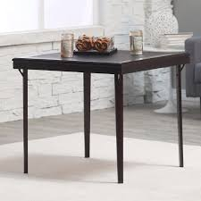 cosco 5 piece bridgeport 32 inch wood folding card table set