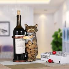 Handicraft For Home Decoration by Best And Cheap Brown Tooarts Cat Wine Holder Cork Container Home