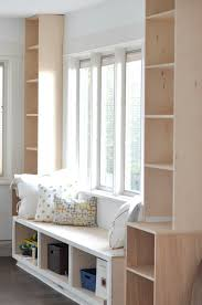 Diy Built In Cabinets by Diy Window Seat And Built Ins Project U0027s Started House Updated