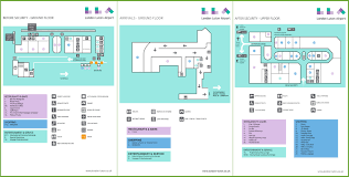 Airport Floor Plan by Luton Airport Map
