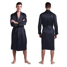 robe de chambre pour homme peignoir en soie naturelle confort pour homme lilysilk