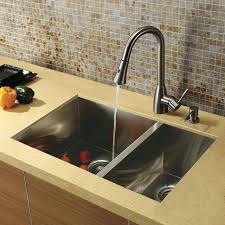 Stainless Steel Sink With Bronze Faucet Faucets For Kitchen Sinks Faucet How To Remove Kitchen Stainless