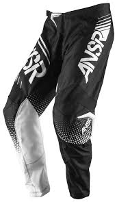 black motocross gear answer syncron pants revzilla